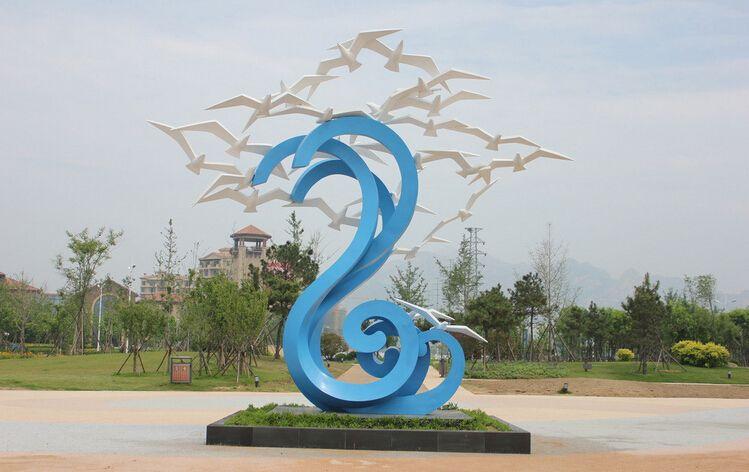 景观雕塑与金属雕塑的作用