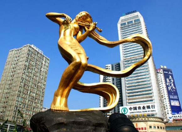 长沙城市雕塑