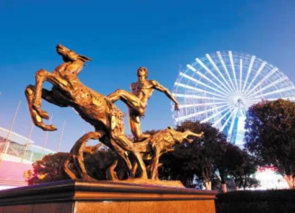 湖南城市雕塑