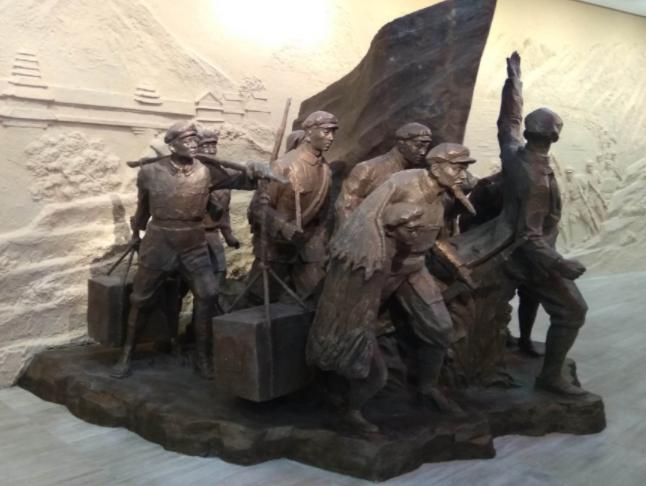 锻铜雕塑订做