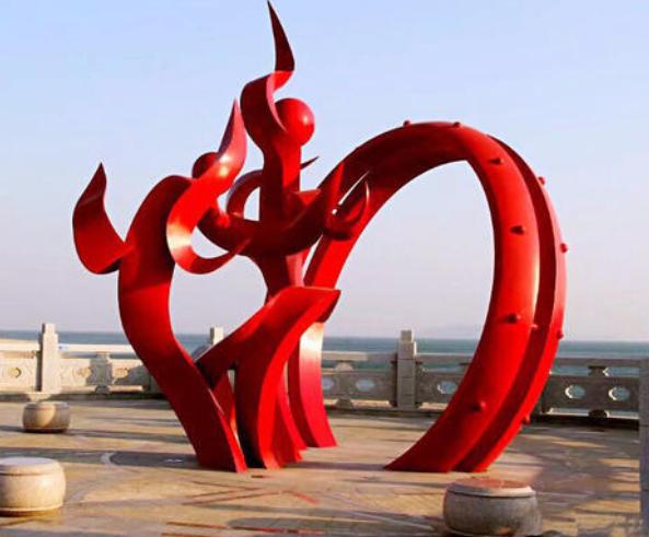湖南不锈钢雕塑公司