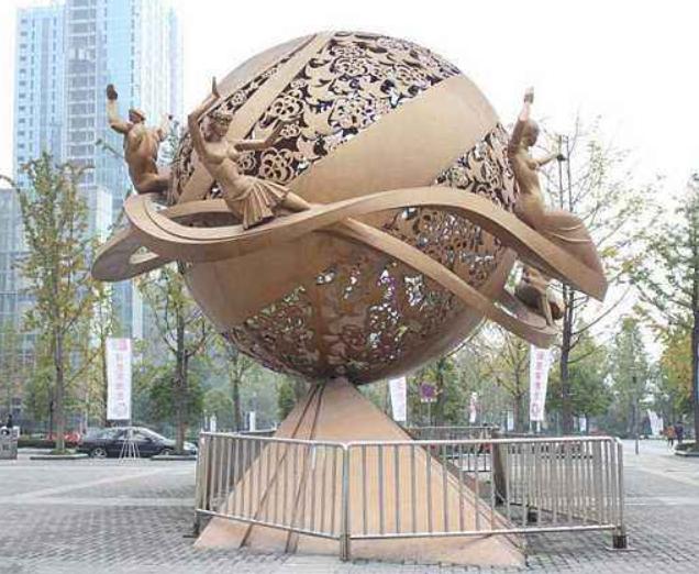 长沙不锈钢雕塑怎么越来越受欢迎呢