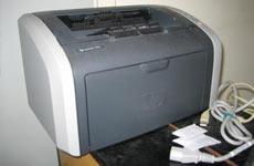 黑白激光打印机安装