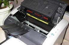彩色激光打印机安装