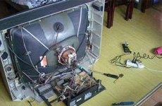CRT投影仪维修