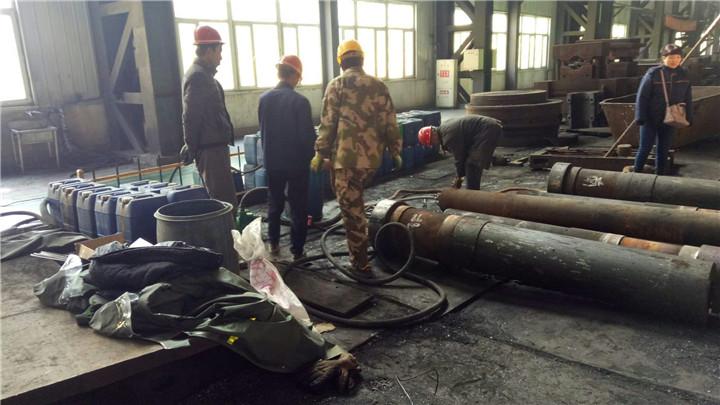 沈阳格瑞特重工锻造的大型设备清洗案例