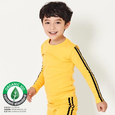 韩国有机棉修身套装