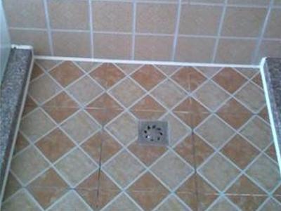 小区淋浴房打胶