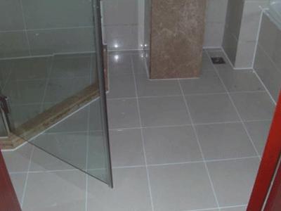 桑拿淋浴房打胶