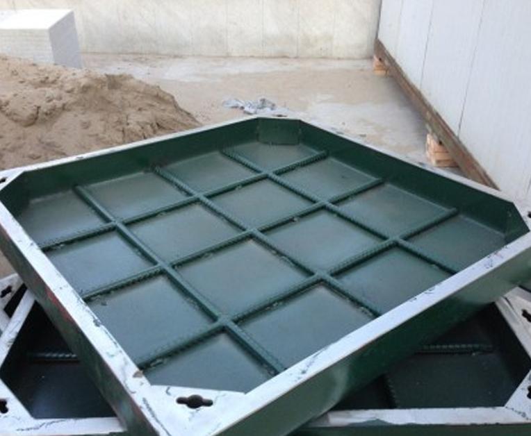 不銹鋼矩形隱形井蓋