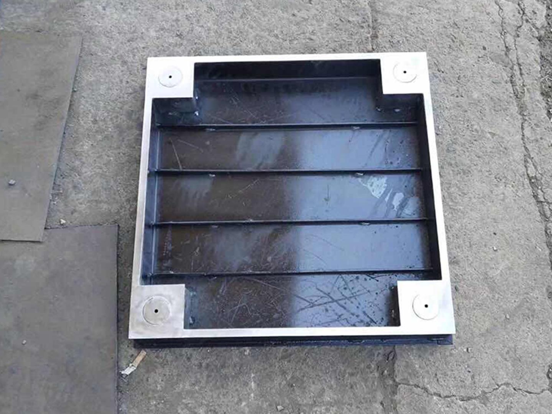 不锈钢矩形隐形井盖
