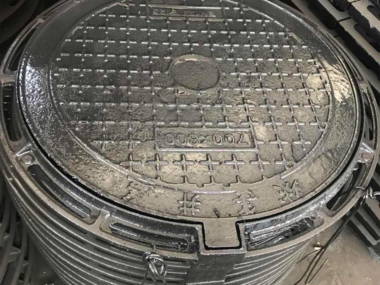 重型双层球墨铸铁井盖