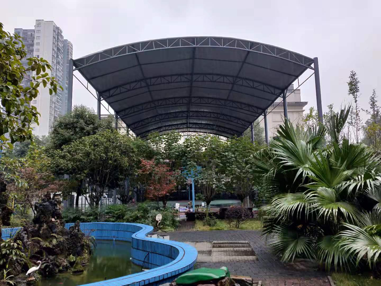 污水膜结构雨棚