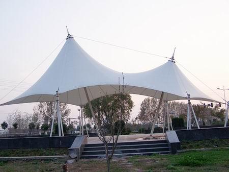 膜结构遮阳景观棚价格