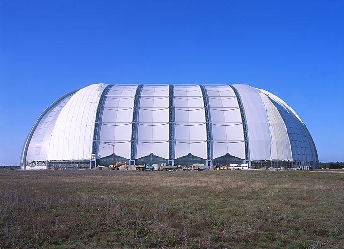 污水厂膜结构安装
