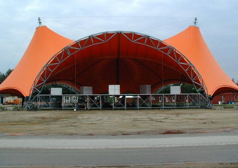 舞台膜结构安装