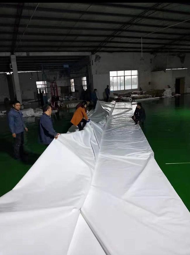 重庆綦江中国移动公司网球场膜布加工