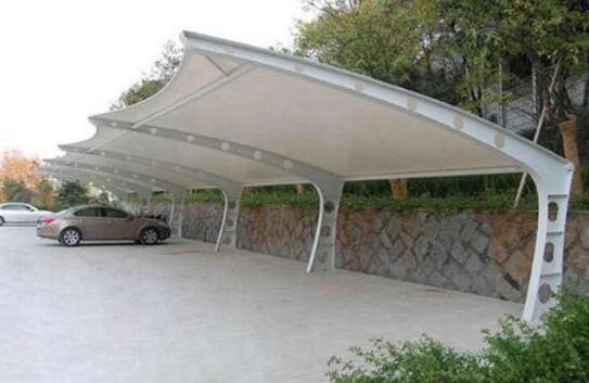 膜结构停车棚损坏后的处理方式有哪些