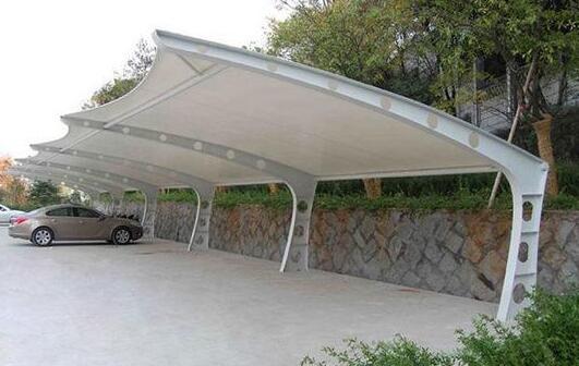 膜结构停车棚的钢材加工过程你知道吗