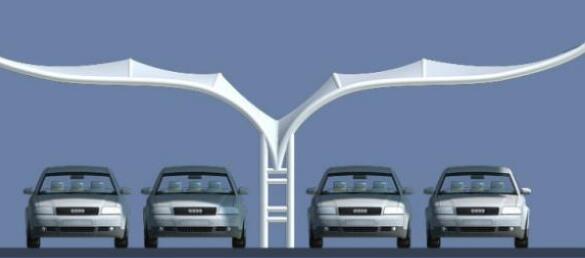 膜结构车棚外部噪声的阻隔办法