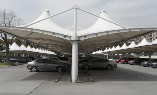 膜结构车棚的棚架应该如何选择?