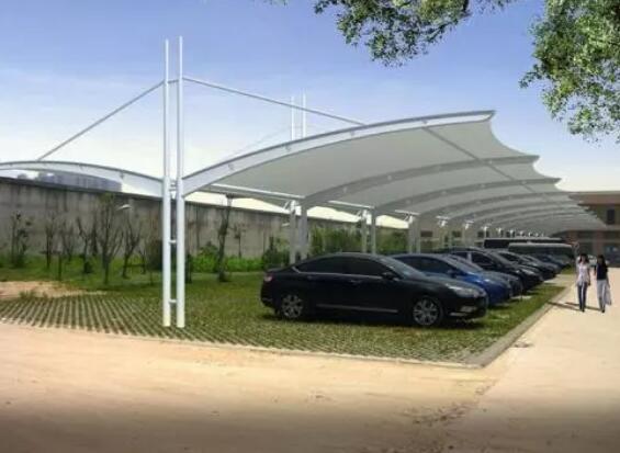 为大家分享膜结构停车棚质量的检查办法