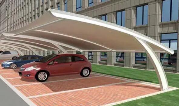 带你了解制作膜结构停车棚中需要注意的四大事项