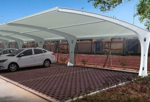 膜结构停车棚为什么这么多选择