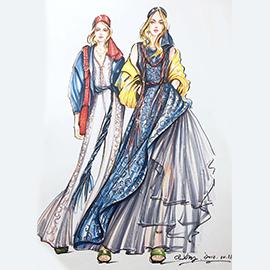 服装设计手绘