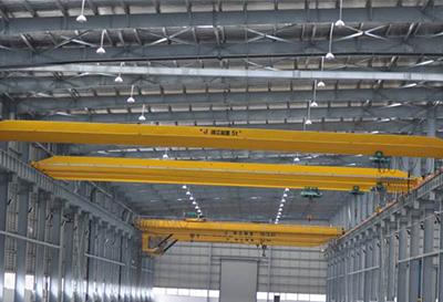 Double bridge crane