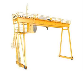 Gantry crane -- self lifting gantry crane