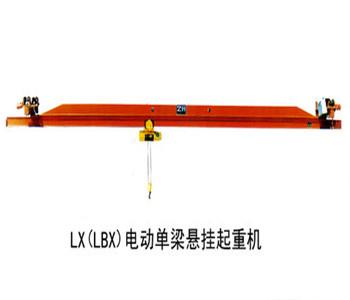 Electric single beam suspension crane