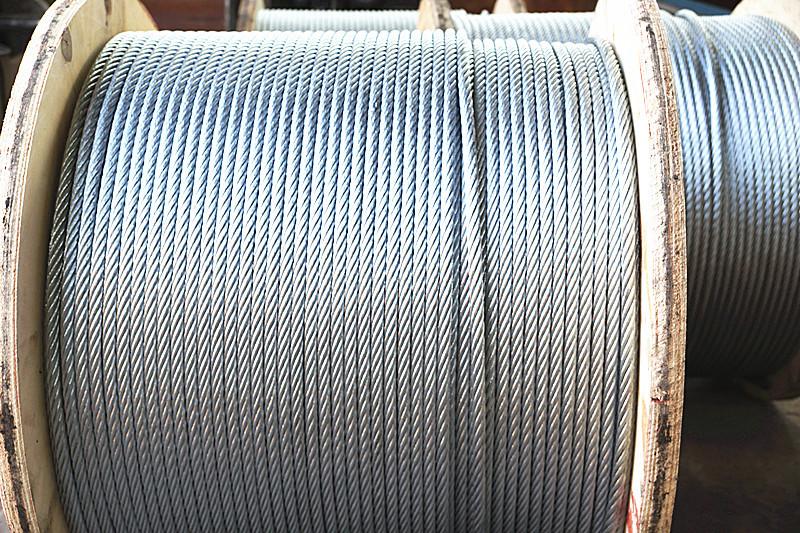 钢丝绳——镀锌钢丝绳