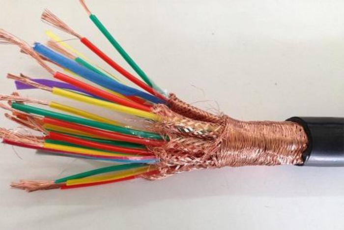 屏蔽铠装硅橡胶防火电缆