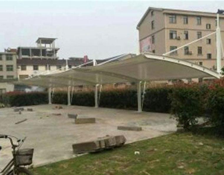 上海拉杆式膜结构车棚