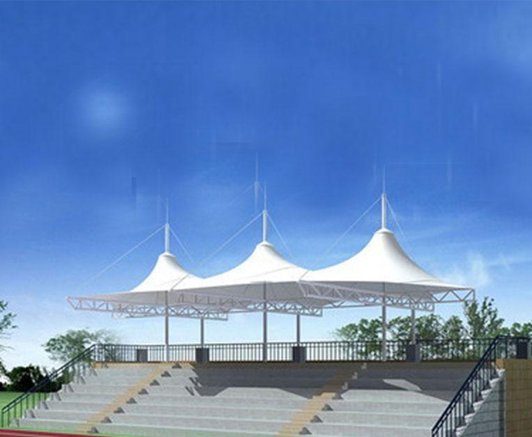 膜结构体育馆看台