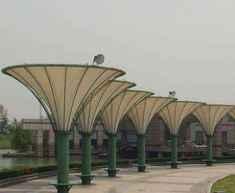 膜结构广场景观