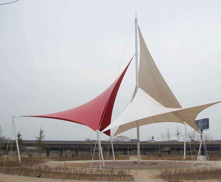 室外广场膜结构