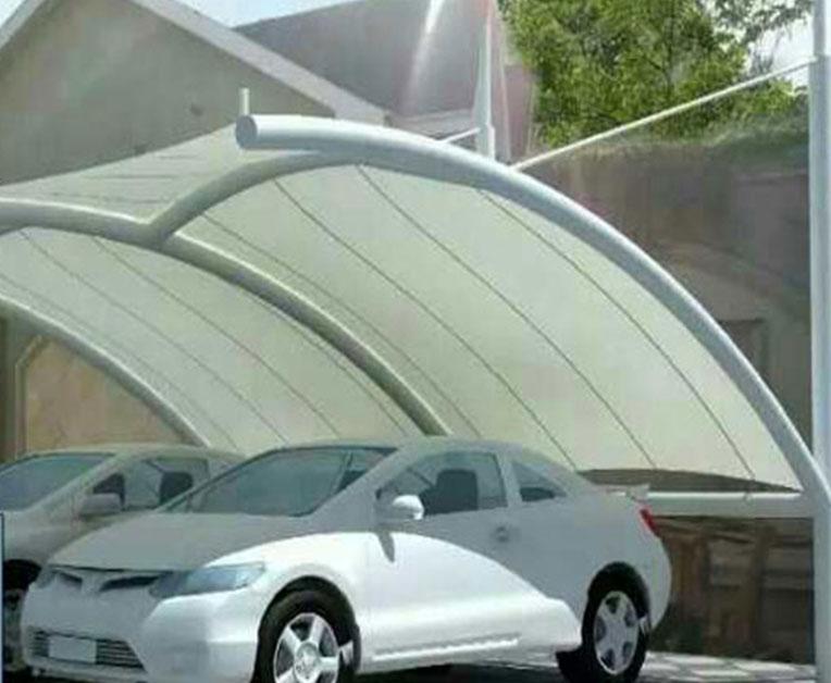 圆管式膜结构车棚