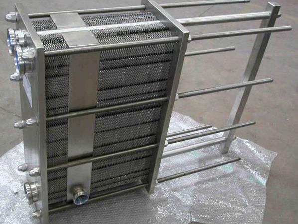 板式换热器制作现场