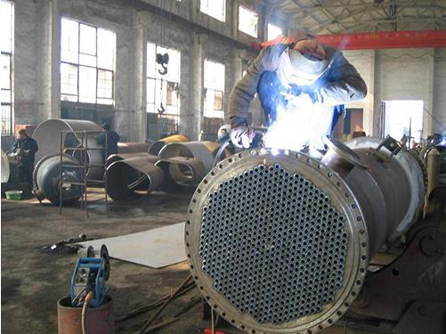 换热器制作过程02