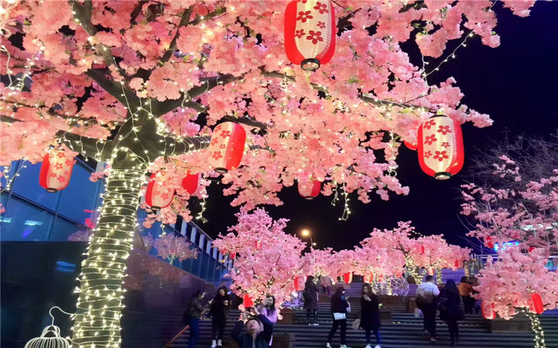 仿真樱花树