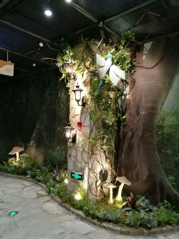 秘境仙踪绿植景观