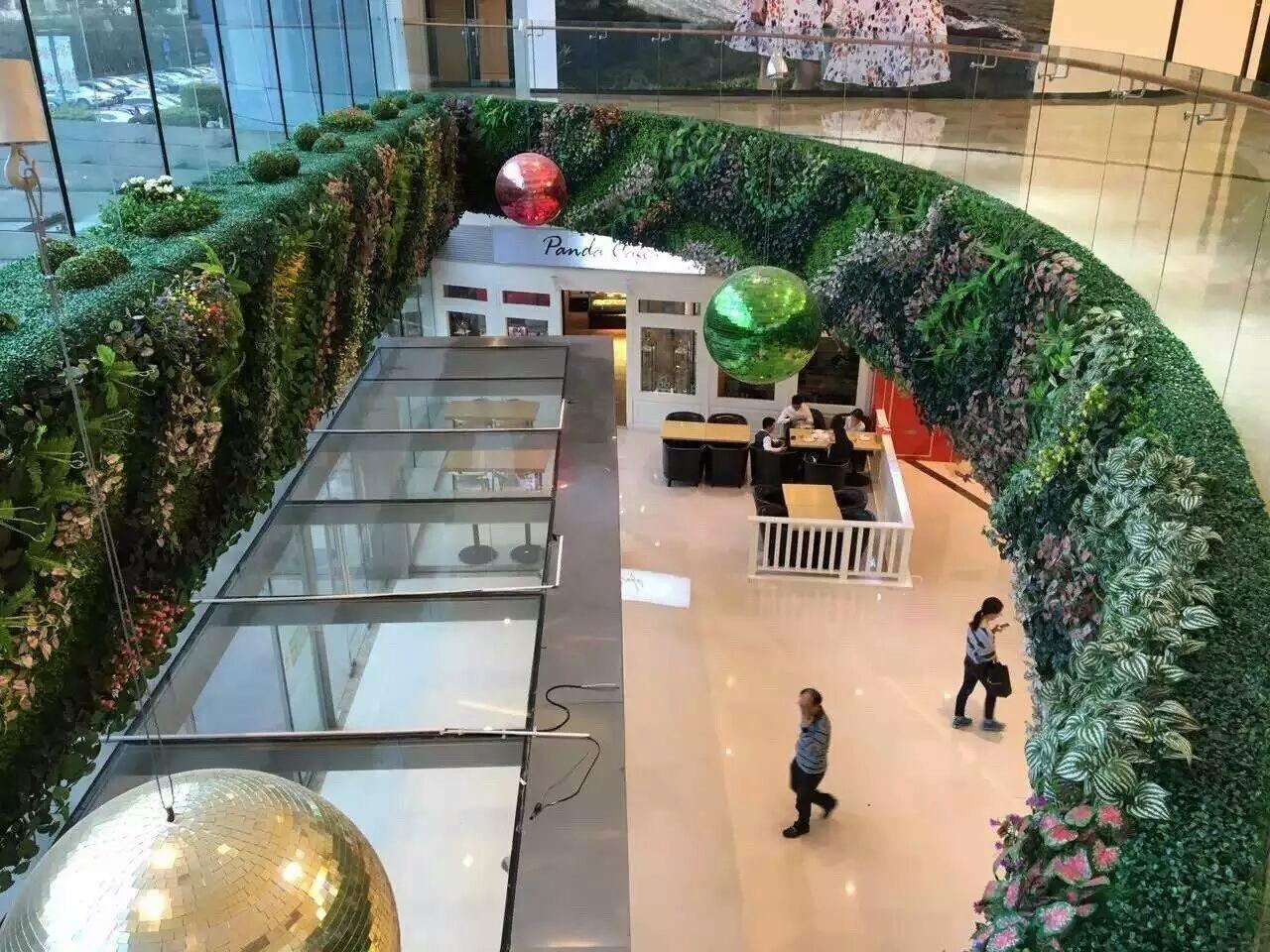 商务空间绿植墙