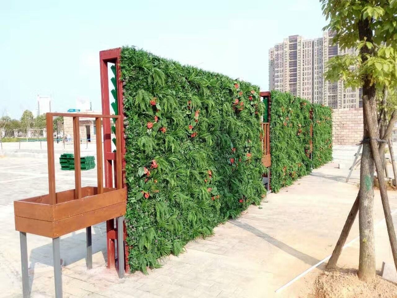 绿植墙-地产公司