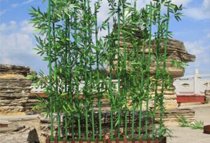 室外仿真竹子