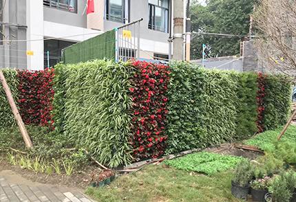 室外仿真植物墻