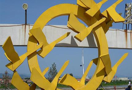 大型户外玻璃钢雕塑