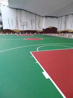 PMP弹性耐磨球场