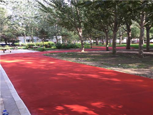 彩色防滑地坪
